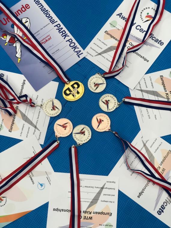 Open European Kids championships και International Park Cup